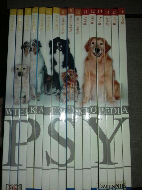 Psy - Wielka encyklopedia  ( zdrowie, szkolenie, rasy ) . Kolekcja.