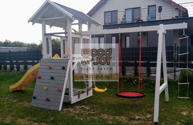 Plac zabaw, ślizg, huśtawka,domek dla dzieci