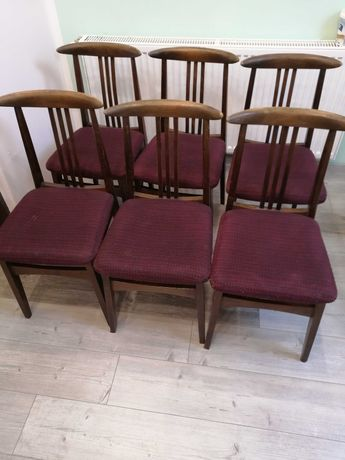 Krzesła Zieliński prl cena za sztukę