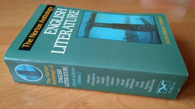 Książka, The Norton Anthology of English Literature, vol. 2, angielski
