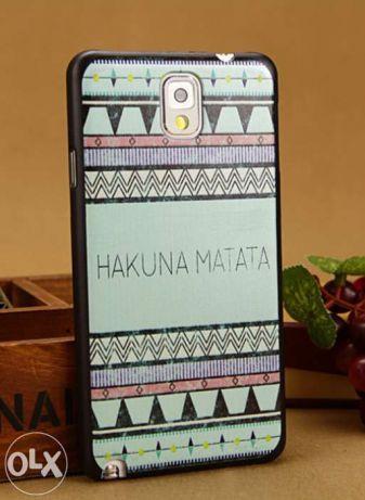 Samsung Galaxy Note 3 III etui case obudowa pokrowiec wzór aztec kolor