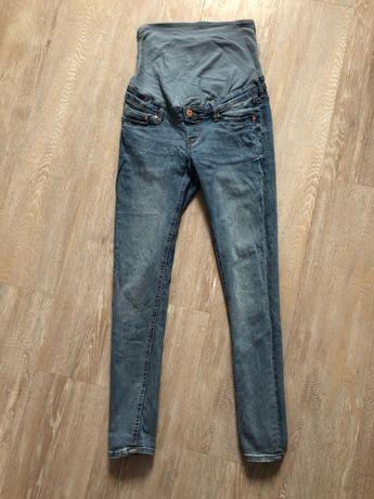 Spodnie jasne jeansy ciążowe hm 40