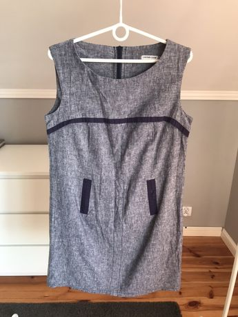 Sukienka len bawełna cotton club 42