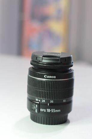 Объектив Canon EF-S 18-55mm 3.5-5.6 III