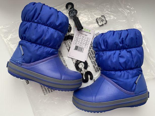 Сапоги черевики Crocs Winter Puff Boot крокс C9 (25-26)