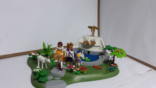Playmobil ogród królewski