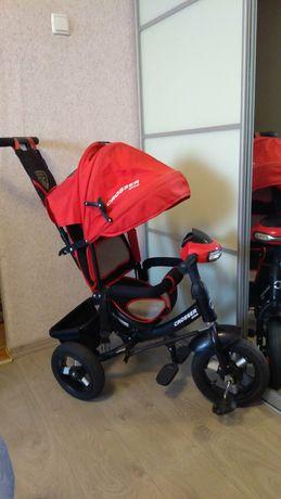 Детский велосипед-коляска Azimut Crosser T-1 Air Red ТОРГ