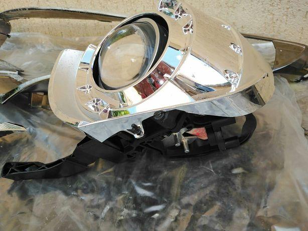 Фара Renault Megane 3, ресничка, Bi-Xenon