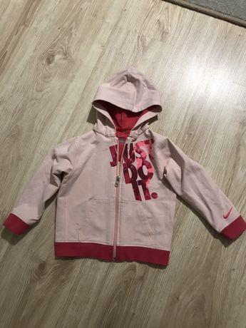 Bluza Nike różowa 86 92 blady róż na zamek rozmiar 85 90