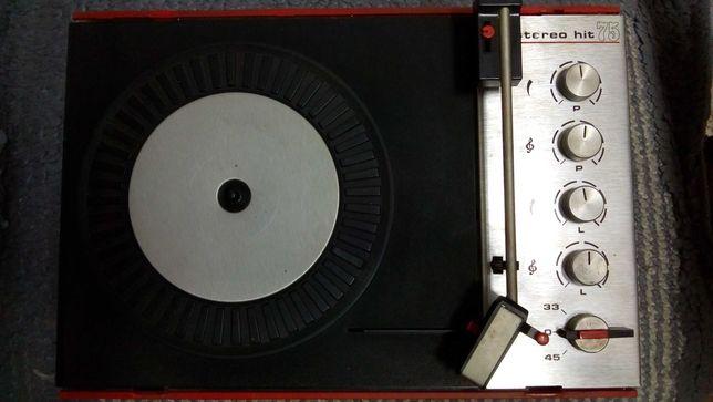 Gramofon Unitra Fonika stereo hit 75 typ WG-402