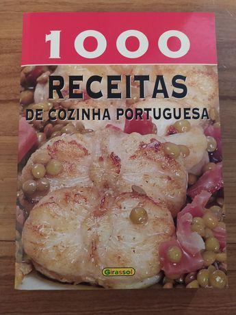 """Livro """"1000 receitas de cozinha portuguesa"""""""