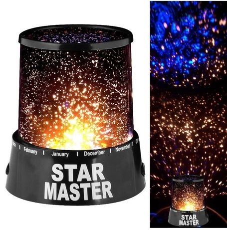 Проектор ночник звездного неба Star Master