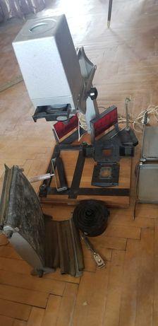 Радянський набір для фотодруку (ЕФГ, ліхтар, рамки)