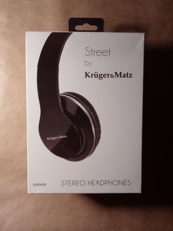 Kruger& Matz Street headphones słuchawki NOWE