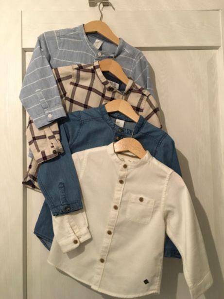 Koszule chłopięce - jak nowe r. 92 i 98