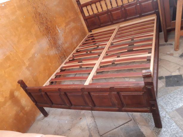 Łóżko drewniane 140cm