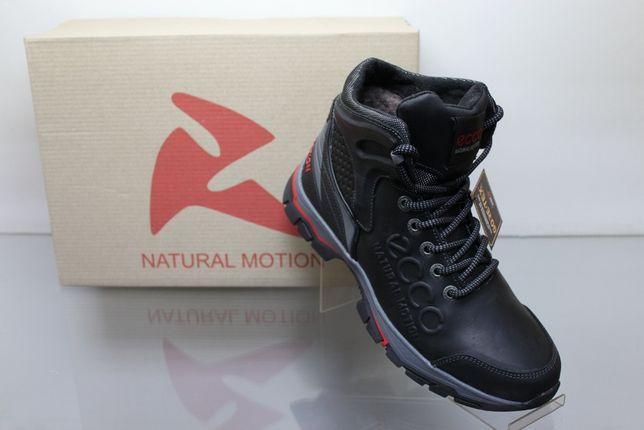 ECCO Natural Motion- кроссовки(ботинки) высокие с мехом зимние(2-7мех)