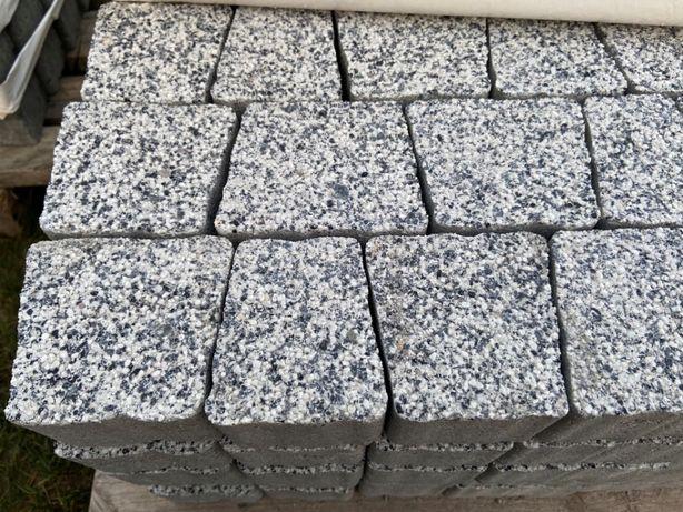 Sprzedam kostkę granit mały biały płukany 6cm