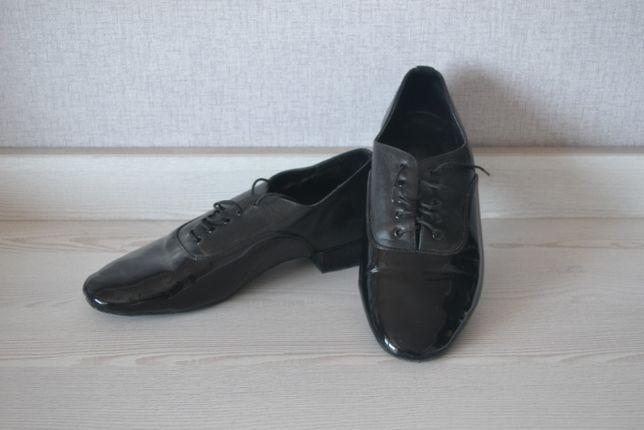 Туфли танцевальные обувь для танцев мужские