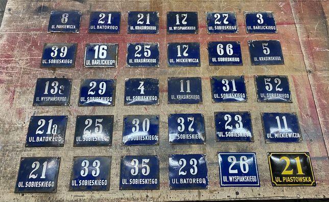 Zabytkowe tabliczki adresowe