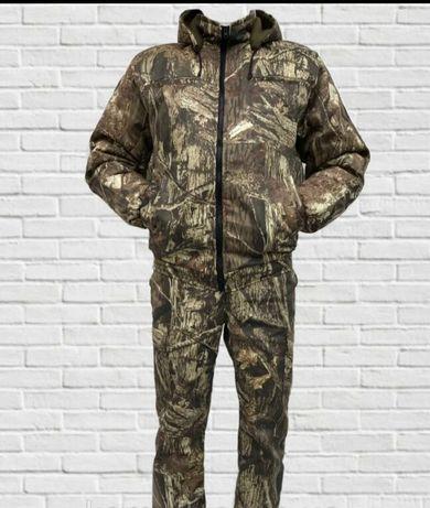 Костюм камуфляжный Утепленный мужской камуфляж зимний охота,рыбалка