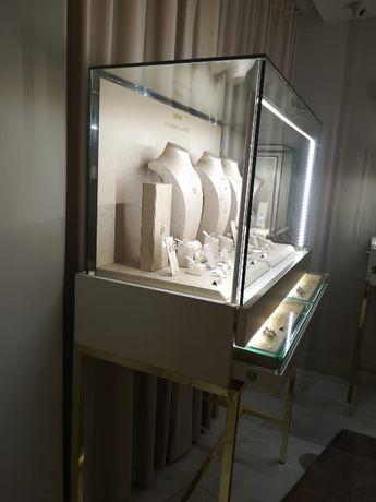 Iluminação modular led para vitrines - joalharia, relogoaria