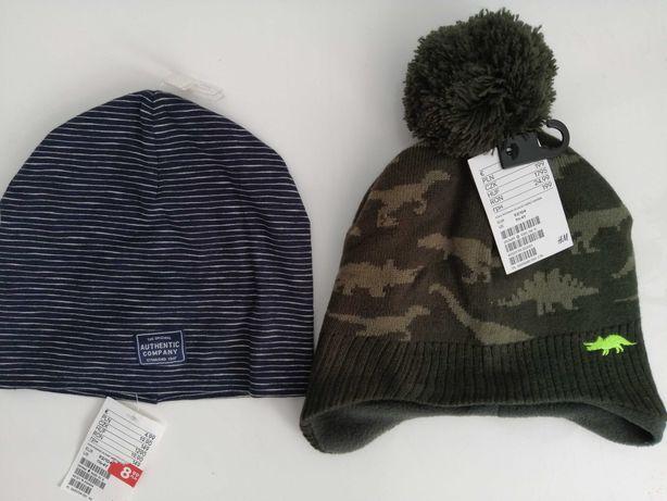 Nowa czapka na jesień i zimę 92/104 dla chłopca