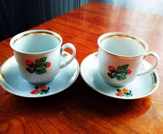 Чайная пара чашка блюдце ссср советская сервиз