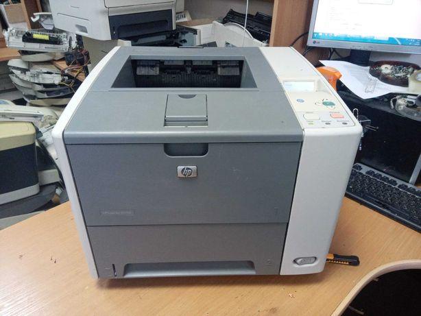 Лазерный принтер HP LaserJet P3005 с дуплексом, картридж на 6000 стр.