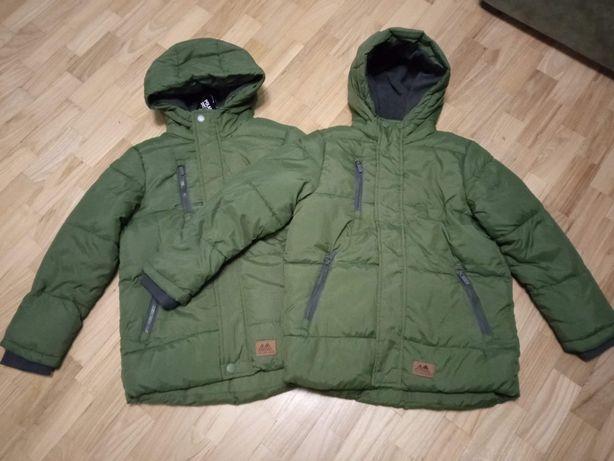 Теплая Куртка Reserved для мальчика близнецов деми еврозима