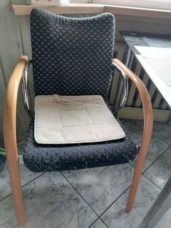 Krzesło fotel PRL
