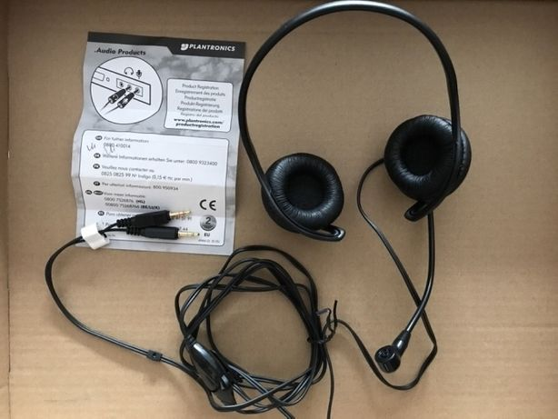 Słuchawki z mikrofonem Plantronics