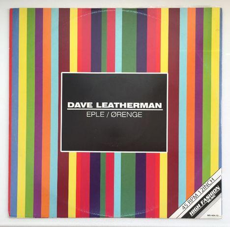 Платівка Dave Leatherman — Eple / Ørenge конверт VG+, платівка VG+