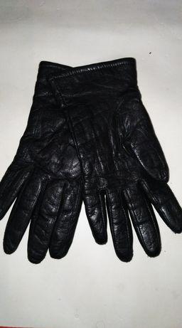 Перчатки кожаные, натуральные, размер 7.5