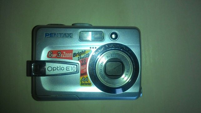 Продам цифровую фото камеру PENTAX Optio E 10