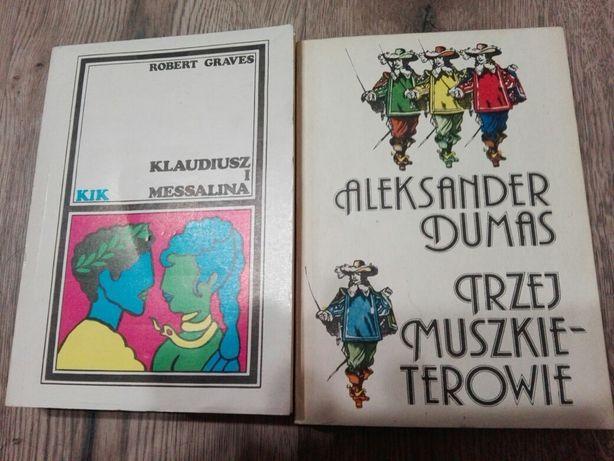 R.Graves Klaudiusz i Messalina i A.Dumas Trzej Muszkieterowie