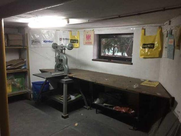 Wynajme ogrzewane pomieszczenie warsztat magazyn piwnica 33 m parking