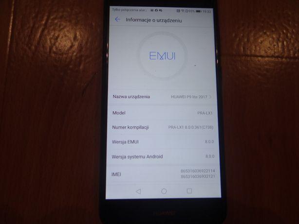 Huawei p9 lite 2017 stan bdb nowa bateria