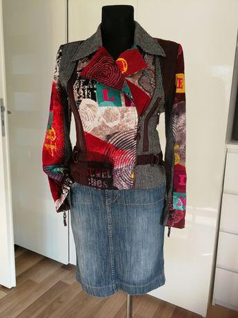 Ramoneska kurtka żakiet vintage M