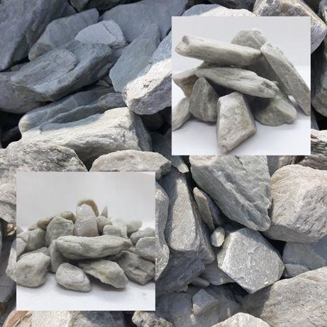 B0 NOWOŚĆ Kora Kamienna SILVER WHITE wyjątkowa OFERTA 320 zł tona
