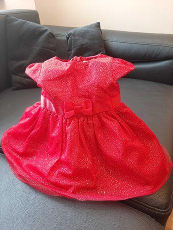 Sukieneczka roz.62 zalozona raz