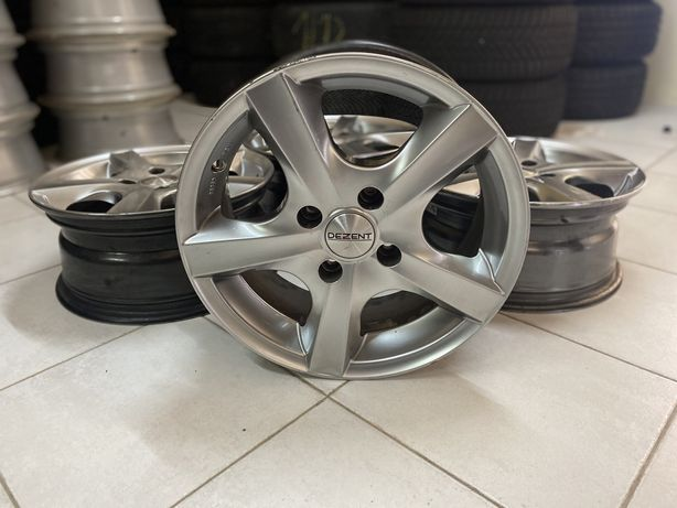 """Jantes 15"""" 4x108 ford fiesta fusion courier focus mondeo volvo"""