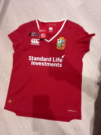 Регбийная фирменная футболка команды Lions