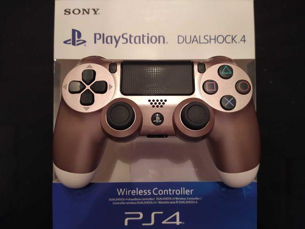 Pad PS4 Dualshock 4 V2 nowy limitowany w pudełku różowe złoto