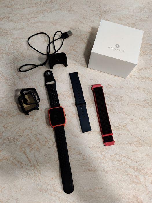 Смарт часы Amazfit bip, ремешки, чохли, коробка, зарядка Жашков - изображение 1