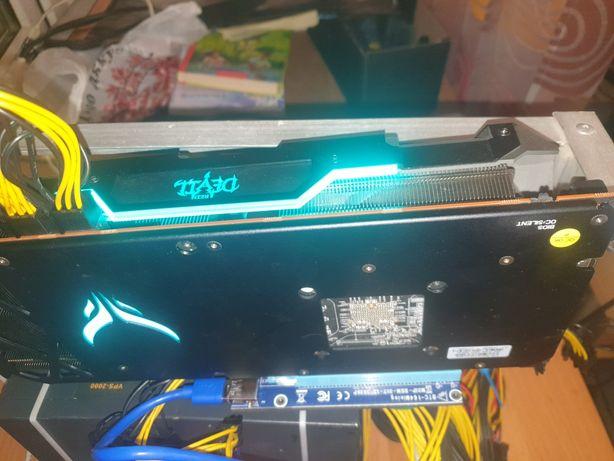 PowerColorRed DevilRadeonRX 5700 XT майнинг