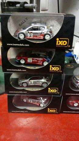 Carros de colecção rally miniaturas