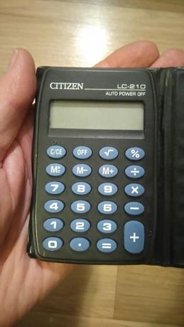 Kalkulator CITIZEN LC210