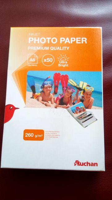 Papier premium do zdjęć A6 sztuk 31