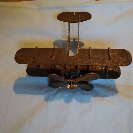 Metalowy model samolotu
